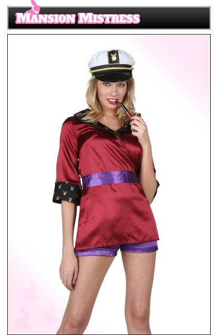 Womens Hugh Hefner Costume Idea