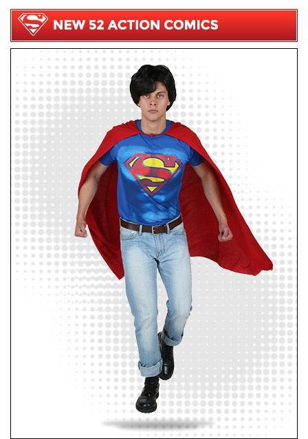New 52 Action Comics Superman Costume Idea