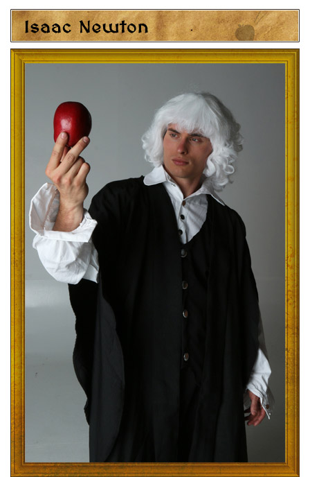 Isaac Newton Costume Idea