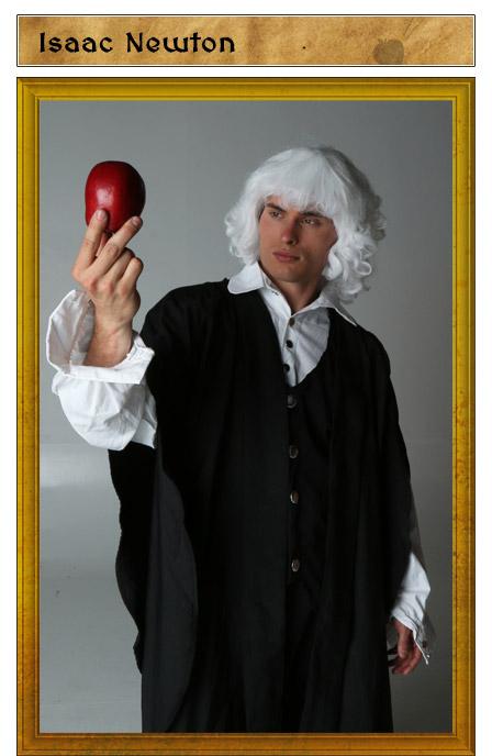 Isaac Newton Costume Idea