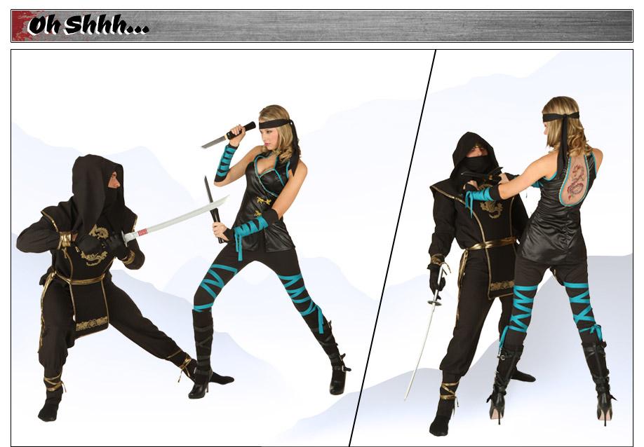 Dragon Ninjas Costumes