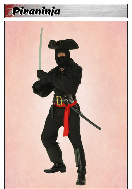 Pirate Ninja Costume