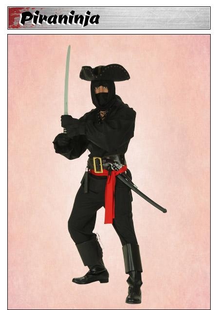 Pirate Ninja Costume