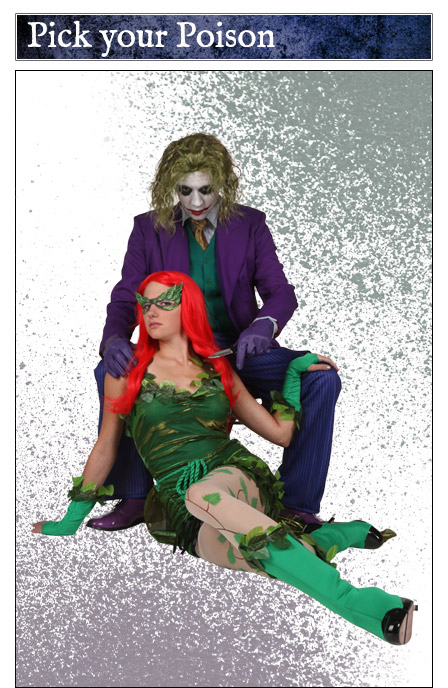 Joker and Poison Ivy Couples Costume Idea