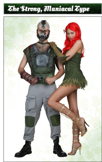 Poison Ivy and Bane Couples Costume Idea