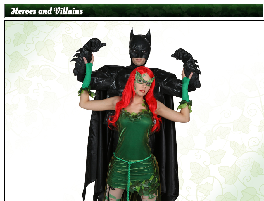 Poison Ivy and Batman Couples Costume Idea