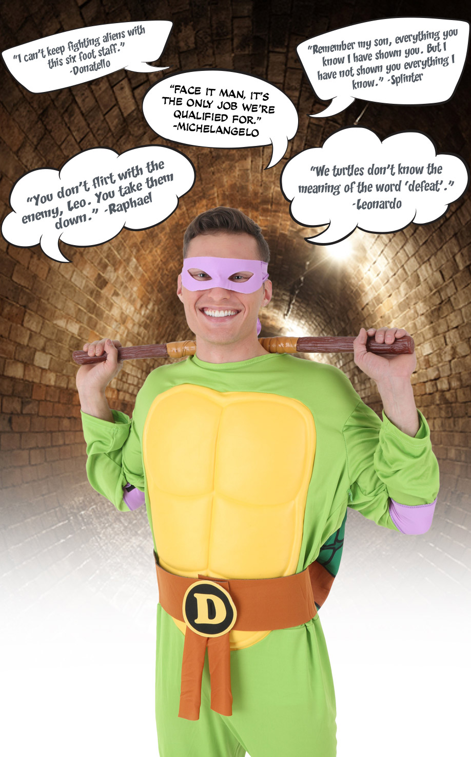 Ninja Turtle Quotes Teenage Mutant Ninja Turtles Costumes  Halloweencostumes