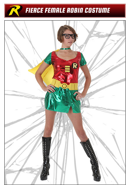 Fierce Female Robin Costume