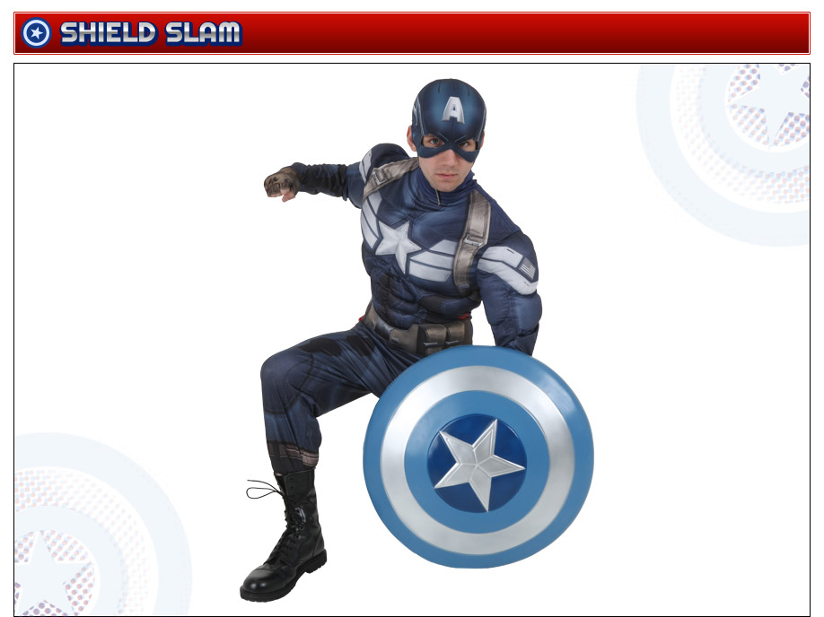 Captain America Shield Slam