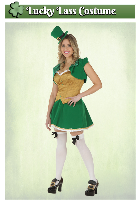 Lucky Lass St. Patrick's Day Costume