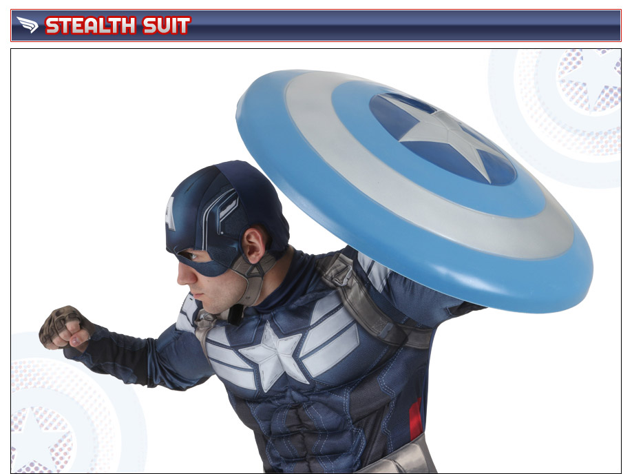 Captain America Stealth Suit Costume