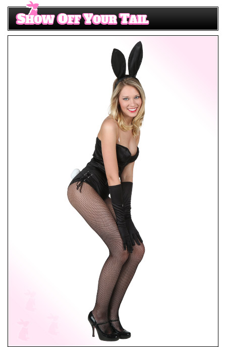 Playboy Bunny Pose - Show Off Your Tail