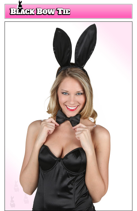 Playboy Bunny Costume Accessory - Bow Tie
