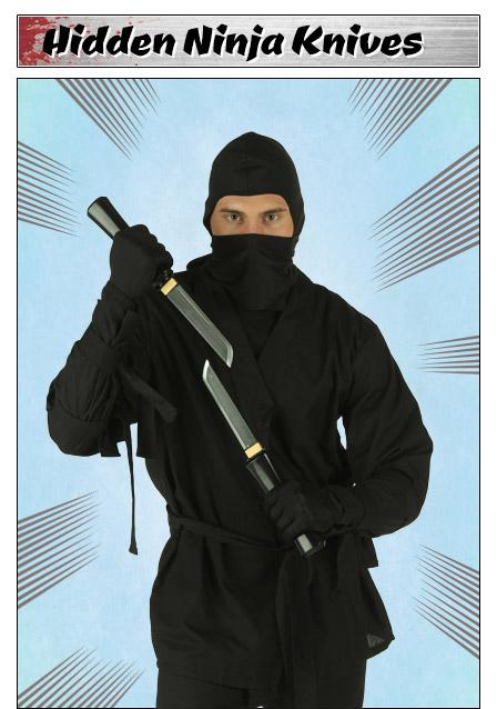 Hidden Ninja Knives