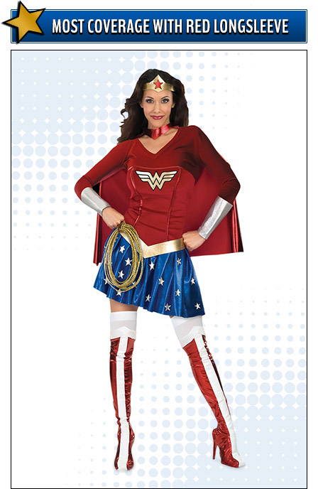 Long Sleeve Wonder Woman Costume