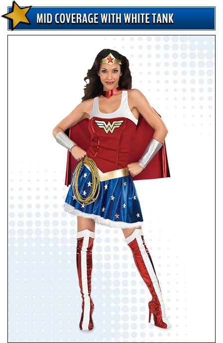 Tank Top Wonder Woman Costume