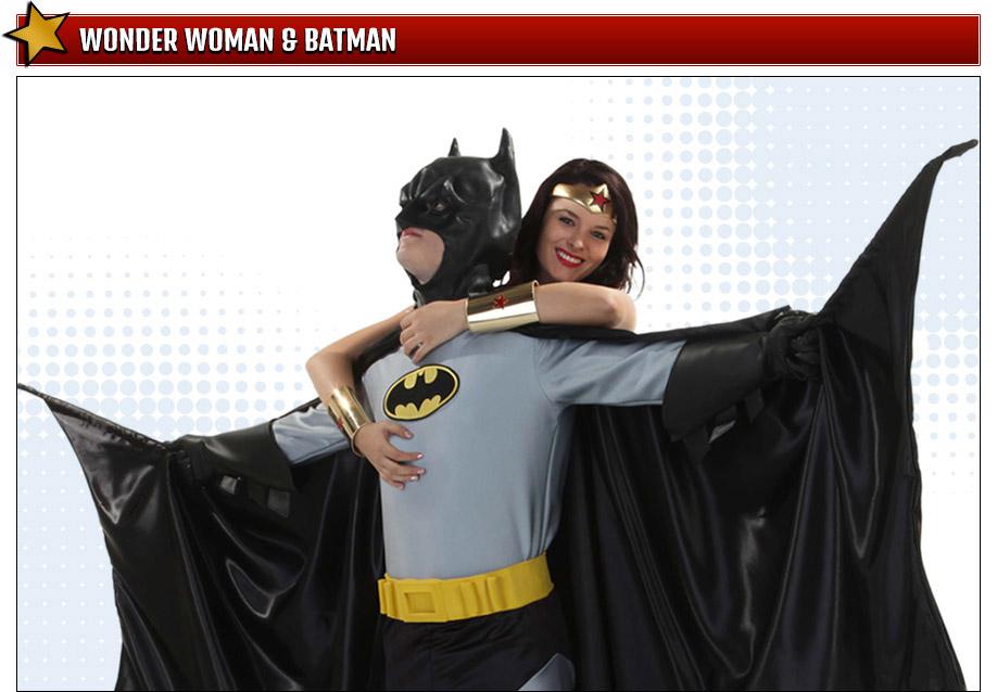 Wonder Woman Batman Costumes