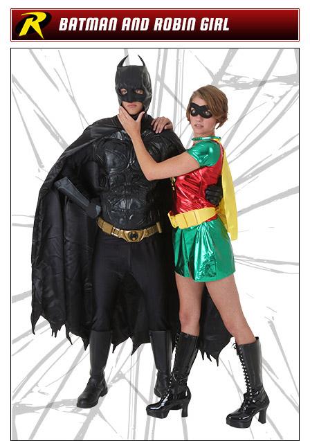 Batman and Robin Couples Costume Ideas