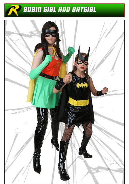 Batman and Robin Couples Costume Ideas