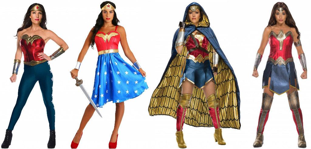 Adult Wonder Woman Costumes