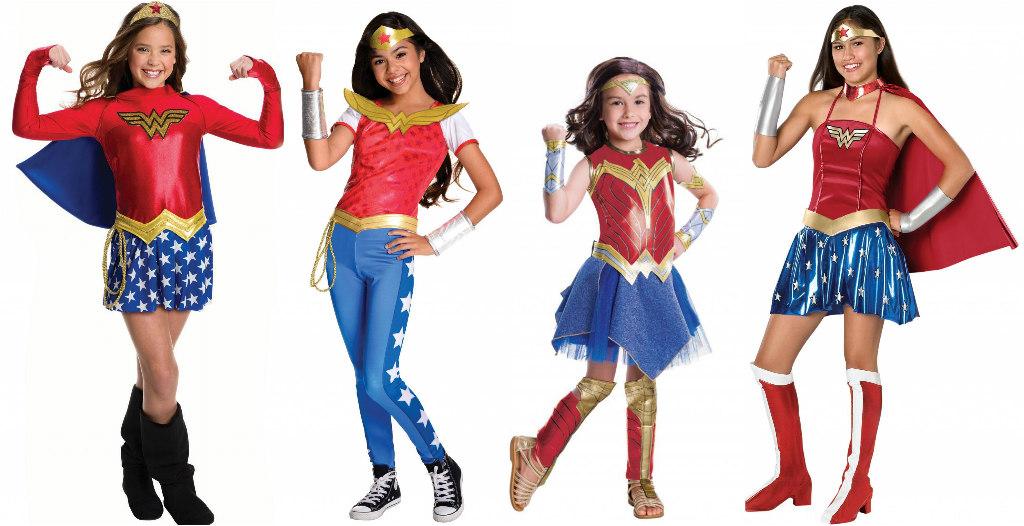 Kids' and Teens' Wonder Woman Costumes
