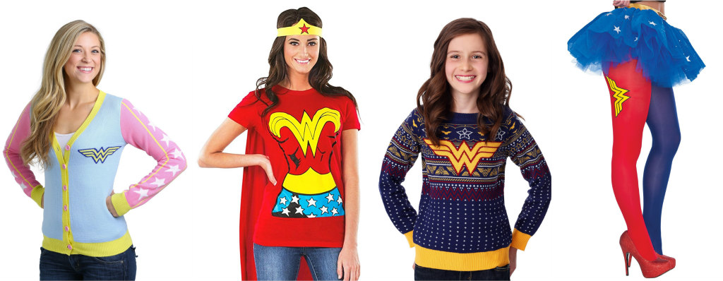 Wonder Woman Apparel