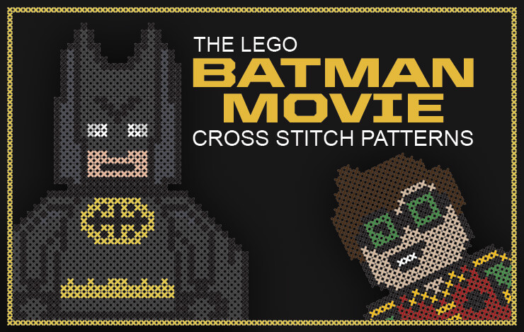 Lego Batman Cross Stitch Patterns