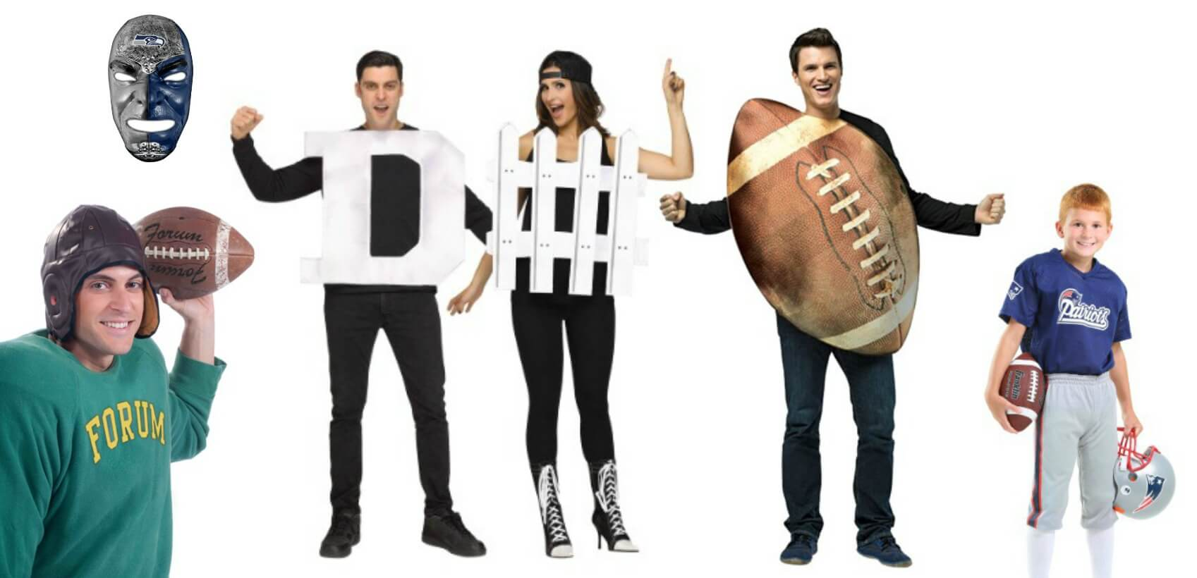 Costumes for Football fans