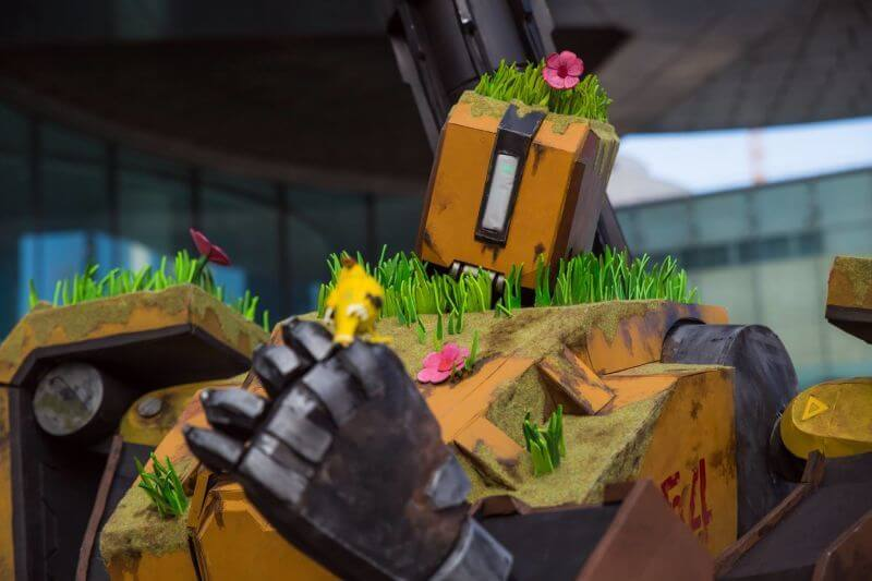 Bastion from Overwatch cosplay