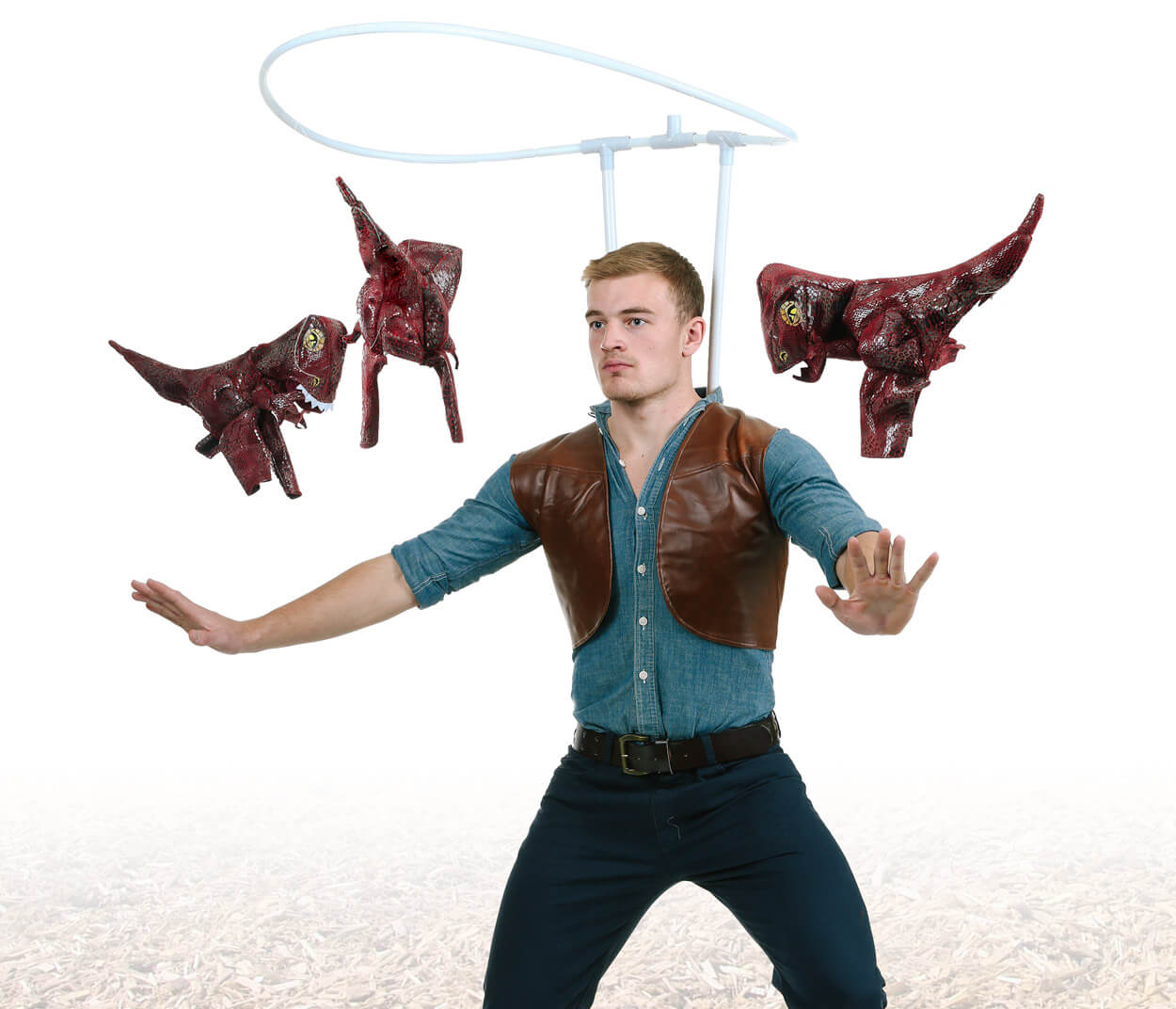 Owen Grady from Jurassic World cosplay
