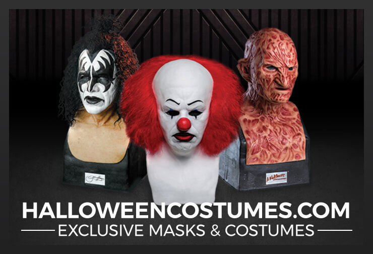 HalloweenCostumes.com Exclusive Masks and Costumes