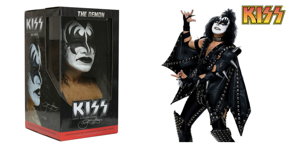 "Gene Simmons ""The Demon"" mask and costume"