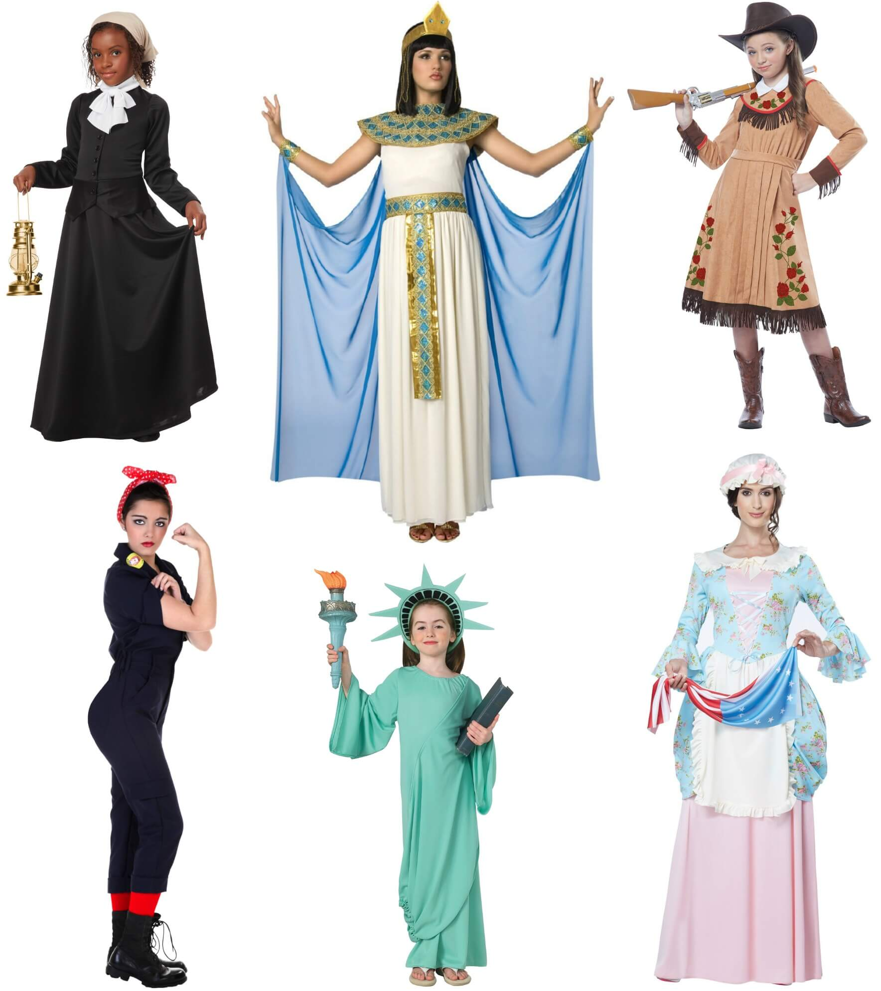 Historical Girl Power Costumes