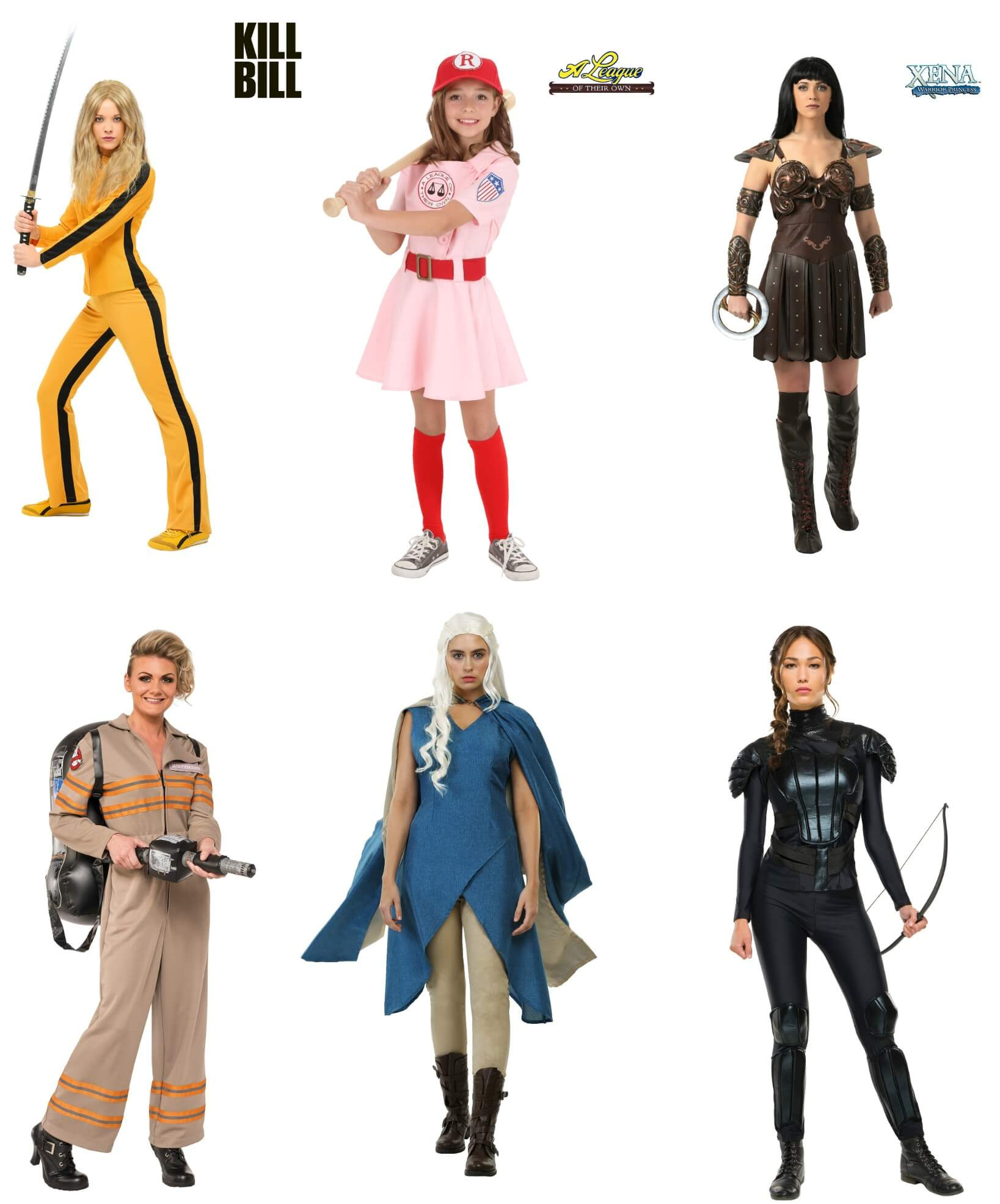Movie and TV Girl Power Costumes