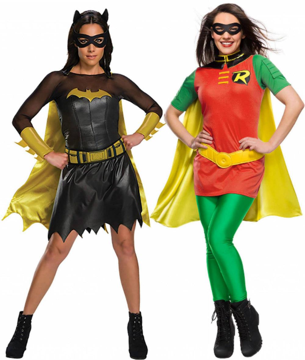 Women's Batman and Robin Costumes