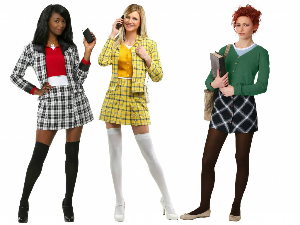 Clueless Costumes: Cher, Dionne, and Tai