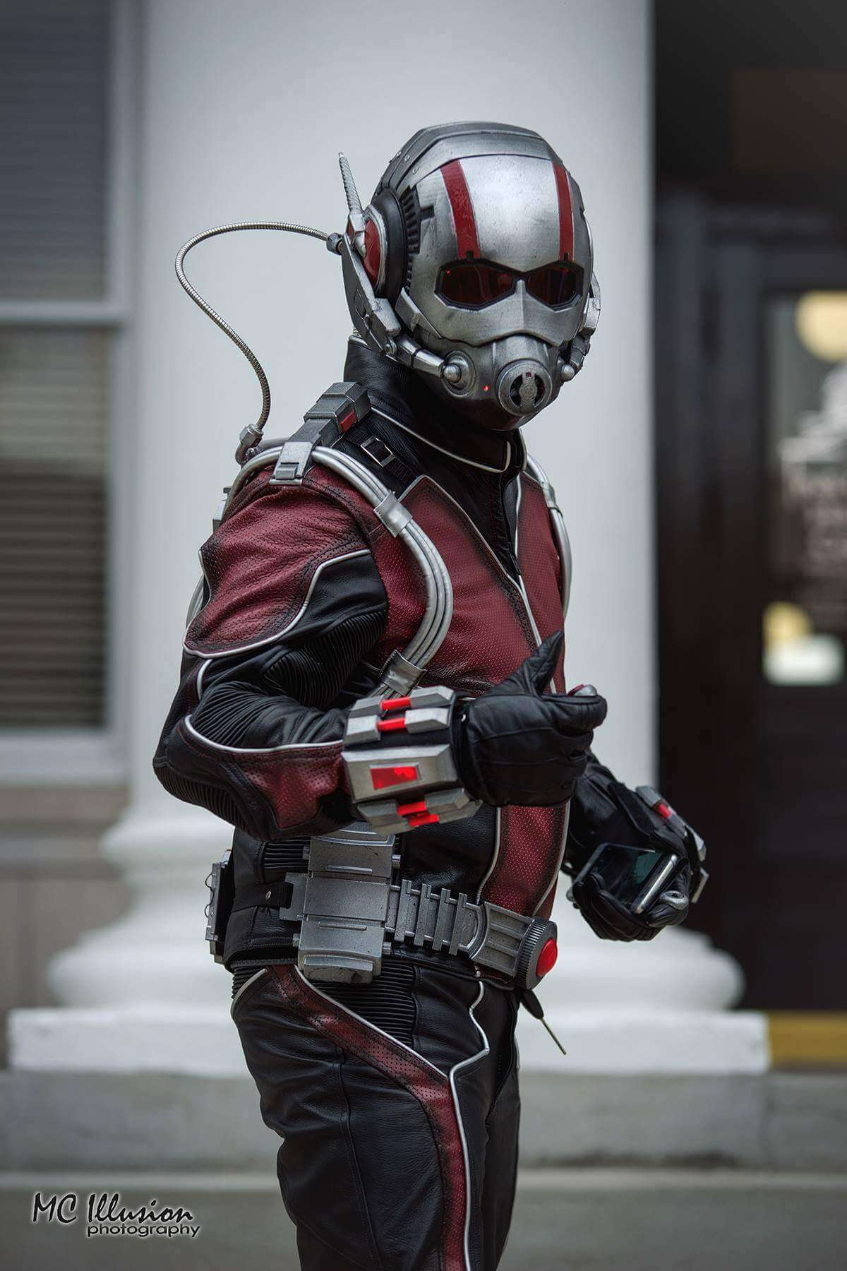 Brian/antman.selfies as Ant-Man