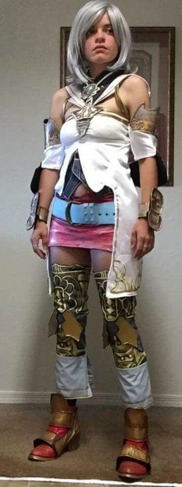 Carla Croft Cosplay as Ashelia B'nargin Dalmasca