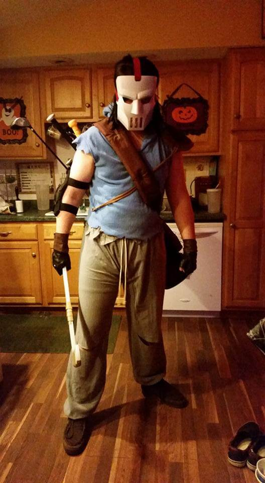 Jim Goff of Board Game Beasts as Casey Jones