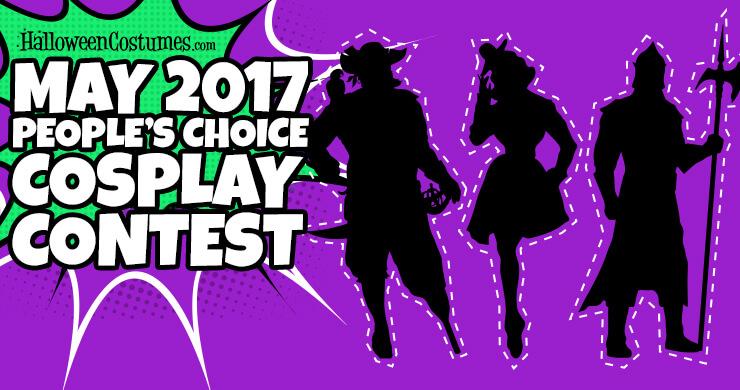 HalloweenCostumes.com May 2017 People's Choice Cosplay Contest