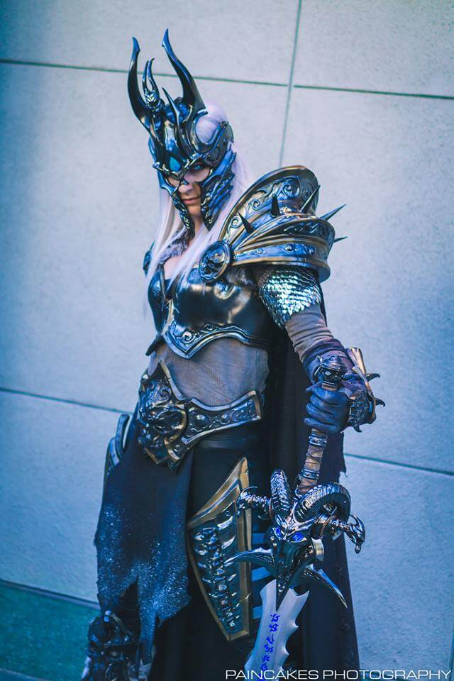 Vert Vixen as the Lich Queen