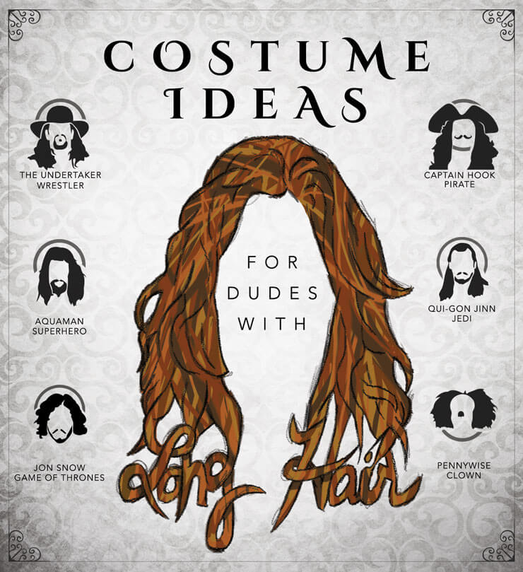 Costume Ideas for Guys with Long Hair The Ultimate Resource