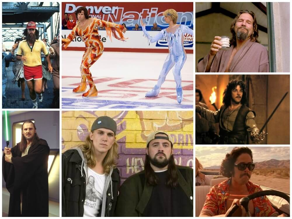 Movie Costumes for Long Haired Men