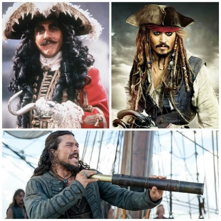 Pirate Costumes for Long Haired Men