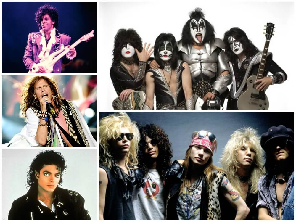 Rock Star Costumes for Guys with Long Hair