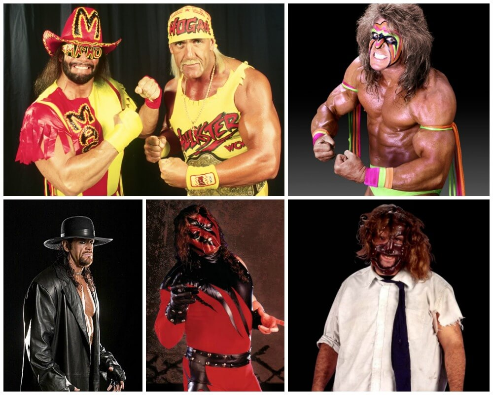 Wrestling Costumes for Guys with Hair