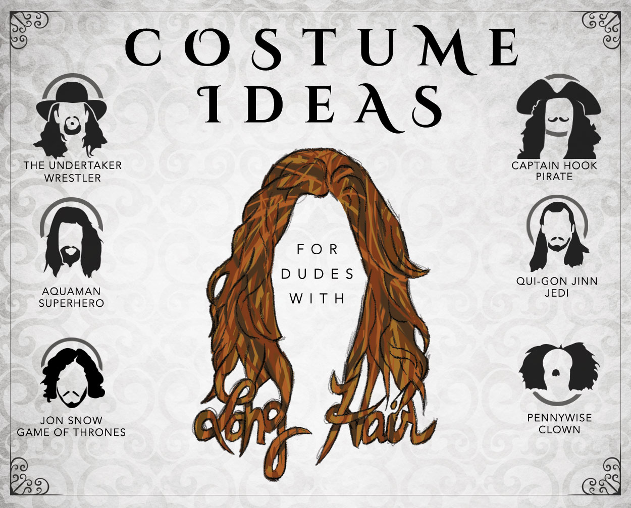 Costume Ideas for Guys With Long Hair