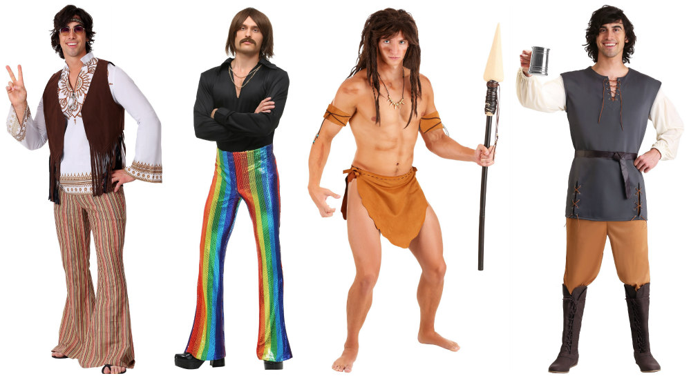 Other Long Hair Costume Ideas for Men