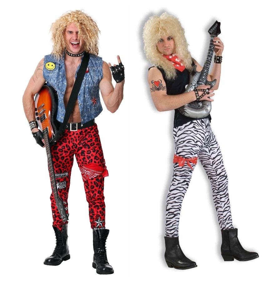 80s Rocker Halloween Costumes