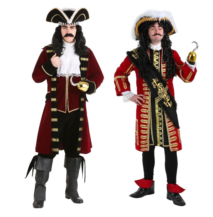 Captain Hook Halloween Costumes